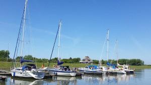 Ruhe im Hafen